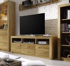 TV Kommode Anrichte Highboard Sideboard Vertiko HARTFORD B Massivholz Asteiche