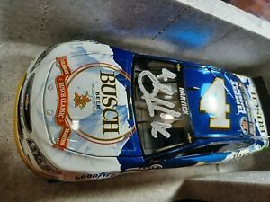 2016 Kevin Harvick Autographed Busch Beer Color Chrome Diecast 1 Of 336