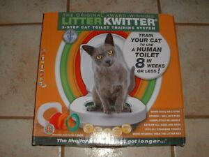 Litter Kwitter Cat Toilet Training System LK-1 NIB