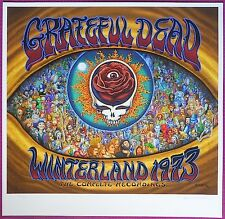 MINT EMEK Grateful Dead 1973 Winterland Giclee Poster 263/395