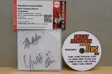 1x CD Signed / Ticket Dwight Icenhower - The Elvis Concert 2019 - Veldhoven