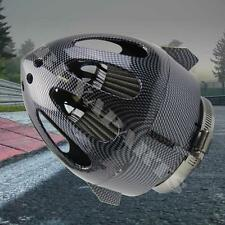 2.5'' Carbon Fiber Bullet Sheild High Flow Mesh Air Intake Filter
