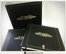 2011 CA Heritage Test Cricket Captains Signature Cards Premium Album Set (44)**