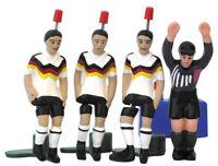 TIPP-KICK WM Classics Deutschland 1990 Tip Kick Classic 3 Kicker 1 Torwart Set