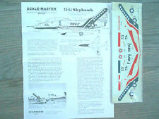 "TA-4J SKYHAWK ""USN/BICENTENNIAL"" SCALE MASTER DECALS 1/72"