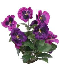 artplants Künstliches Stiefmütterchen HILDE Steckstab, lila, 30cm - Plastikblume