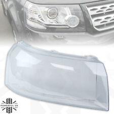 Headlight lens for Freelander 2 2012-14 replacement glass Right RH O/S headlamp