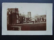 More details for northampton maidwell hall shows meeting on horse back hunting? c1905 rp postcard