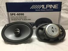 "ALPINE SPE-6090 TYPE E 6""X9"" CAR SPEAKER/CAR AUDIO SPEAKER 2-WAY COAXIAL SPE6090"