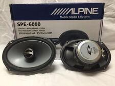 """ALPINE SPE-6090 TYPE E 6""""X9"""" CAR SPEAKER/CAR AUDIO SPEAKER 2-WAY COAXIAL SPE6090"""