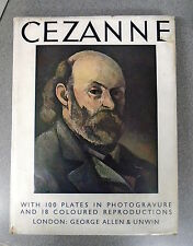 PAUL CEZANNE by FRITZ NOVOTNY H/B D/W PHAIDON PRESS 1937 - UK POST £7.50