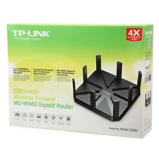NEW TP-LINK Archer C5400 AC5400 Tri-Band MU-MIMO Gigabit Wireless AC Router BLK