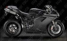 Hot ABS MatteBlk Fairing Bodywork Injections For Ducati 1098 848 1098S/R 1198S/R