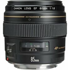 Brand New Canon EF 85mm F1.8 USM Black Lens IT*3