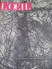 REVUE ART L'OEIL N° 5 de 1955 BRESDIN SURREALISME ENLUMINURES PICASSO ALTDORFER