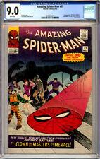 AMAZING SPIDER-MAN #22 CGC 9.0 WHITE PAGES 1st PRICESS PYTHON 1965