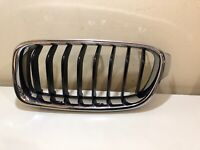 BMW 3 SERIES 2012 - 2015 PASSENGERS LEFT FRONT KIDNEY GRILL 51137255411 GENUINE