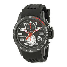 Morphic M4 Series Black Ion-plated Steel Black Silicone Mens Watch 0403