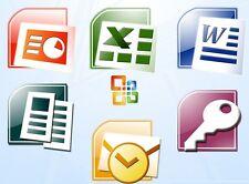 Office Pro Plus 2007 (Fr) - Word, Excel,Outlook, etc.- Clé Produit Multiposte