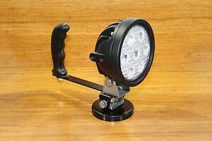 Vision-X 21w 12v 24v DC LED Marine 40 Deg Flood Light Magnetic Base + Handle