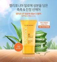 [Nature Republic] California Aloe Daily Sun Block Cream SPF50+ PA++++ 57ml