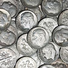$11.80 BAG 90% SILVER DIMES COINS U.S. MINTED NO JUNK PRE 1965 1