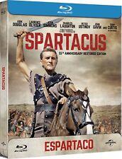 Espartaco (Blu-ray, 2017, Edición Caja Metálica)