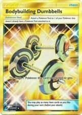 Pokemon Bodybuilding Dumbbells - 161/147 - Secret Rare NM-Mint, English