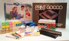 Complete Riso Print Gocco B5 and B6 Screen Printing Set