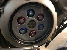 Aprilia Dorsoduro 750 Clear Clutch Cover Kit 08-12 Americano (Red, white & Blue)