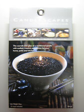 Candlescapes Wax Beads BLACK 15 oz. No Mess Candle Free US Shipping