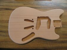 Saylor Guitars Unfinished Oregon One Piece Red Alder Mustang Style Body 3# 13oz