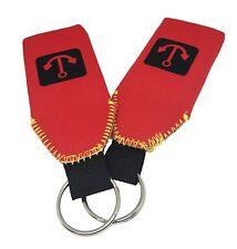 2x Red Floating Neoprene Keychain Key Chain floats 2-3 Keys