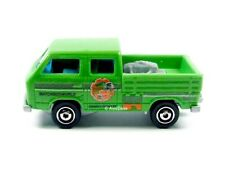 MATCHBOX / Volkswagen Transporter Crew Cab (Green) - No packaging.