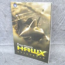H.A.W.X Tom Clancy's HAWX Reference Guide Game Booklet Japan Book Xbox 360 Ltd