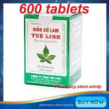 600 Tablets Jiao Gu Lan Giao Co Lam Jiaogulan Gynostemma Extract Herbal Remedy