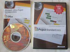 Microsoft Office Project Standard 2003 Windows XP/Vista/Win 7/8/10
