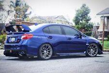 "18"" 18x9.5 ET+40 SSR GTX01 Dark Silver Wheels Rims 5x4.5 Subaru WRX STI (4) Set"