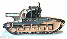 Scorpion British Army Military WW2 Battle Tank WWII Metal Enamel Badge Lapel Pin