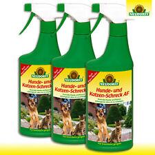 Neudorff 3 x 500 ml Hunde- und Katzen-Schreck AF | Pumpspray