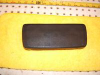 Porsche MED 944 Dash Steering wheel Center BLACK Horn NON leather wrapped 1 Pad