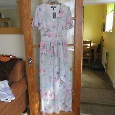 Dorothy Perkins Flower/Multi Flowing dress size 12 RRP £ 50 BNWT