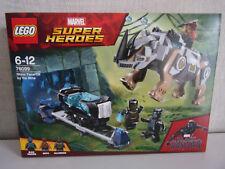 Lego Marvel Super Heroes - Black Panther contre Killmonger le Combat dans ...