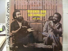 ANDY MONTAÑEZ MONTANEZ Versatil TOMANDO RON SIN BAÑARSE rare DR LP!