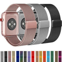 For Apple Watch 5 4 3 2 1 Milanese Loop Band Magnetic iwatch Strap 38 40 42 44mm