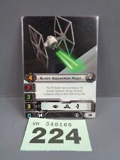 Wargaming X Wing Alt Art Promo 2013 Black Squadron Pilot Card 224