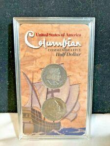 2 Columbian Expo Commemorative Half Dollar Coins 1893