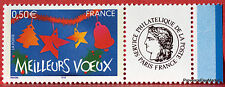 France - Stamp Custom n° 3726 A - Meilleurs Voeux 44m74