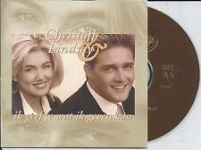 CHRISTOFF & LINDSAY - Ik geef je wat ik geven kan CD SINGLE 2TR BELGIUM 1999