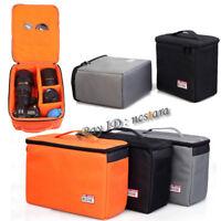 Thick Padded DSLR SLR Camera Lens Bag Inner Dividers Insert Camera Case Pouch Ne